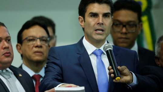 Cerimônia de posse na Assembléia Legislativa do Governador Helder Barbalho