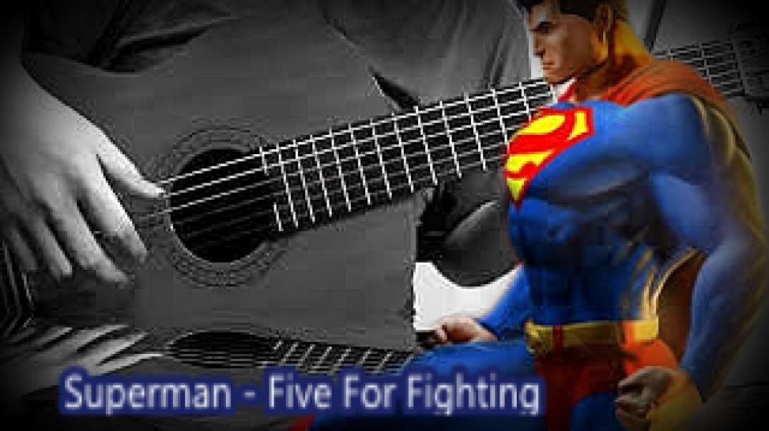 Superman  -   Five For Fighting   (Violão Fingerstyle)