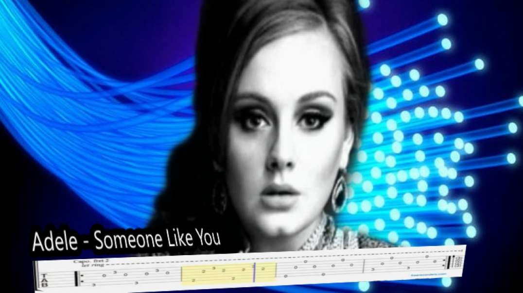 Adele -  Someone  Like You (Fingerstyle Tabs)
